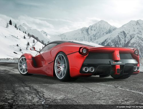 Ferrari LaFerrari (Winter)